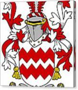 Gaine Coat Of Arms Irish Canvas Print