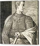 Gaius Caesar Caligula Emperor Of Rome Canvas Print