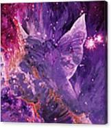 Galactic Angel - Rose Canvas Print
