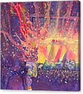 Galactic At Arise Music Festival Canvas Print