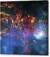 Galactic Storm Canvas Print