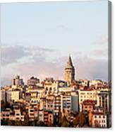 Galata Skyline 02 Canvas Print