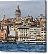 Galata Tower 03 Canvas Print