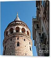 Galata Tower 03 Canvas Print