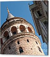 Galata Tower 04 Canvas Print