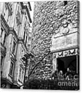 Galata Tower Entry 02 Canvas Print