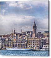 Galata Tower Istanbul Canvas Print