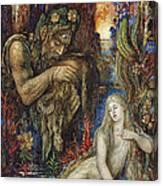 Galathea Canvas Print