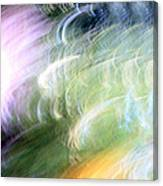 Galaxy Colors Canvas Print