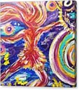Galaxy Dancer Canvas Print