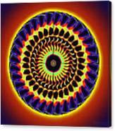Galaxy Spotlight Kaleidoscope Canvas Print