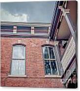 Galena's Architecture  Canvas Print