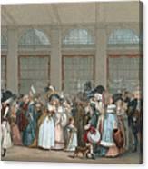 Galerie De Bois, C1740 Canvas Print