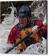 Gallatin Kayaker  Canvas Print