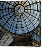 Galleria  In Milan Canvas Print