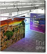 Gallery Top Canvas Print