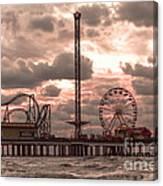 Galveston Island Morning Canvas Print