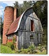 Gambrel-roofed Barn Canvas Print