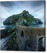 Games Of Thrones - Dragonstone Island -san Juan De Gaztelugatxe Canvas Print
