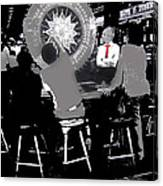 Gaming Tables Interior Binion's Horseshoe Casino Las Vegas Nevada 1979-2014 Canvas Print
