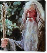 Gandalf The Grey Not Moses Mom Canvas Print
