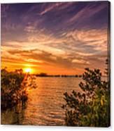 Gandy Sunset Canvas Print