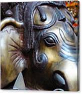 Ganesh Bodhi Canvas Print