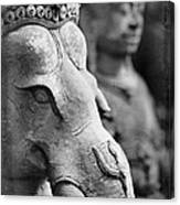 Ganesha In Time Canvas Print