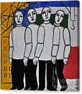 Gang Of Four Canvas Print
