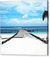 Gangplank Of Perfection Canvas Print