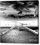 Gangplank Of Perfection Infrared Extreme Canvas Print