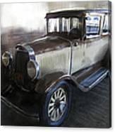 Gansgter Era Automobile Canvas Print