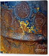 Garbage Can Abstract Canvas Print