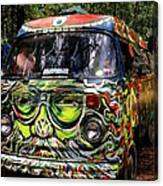 Garcia Vw Bus Canvas Print