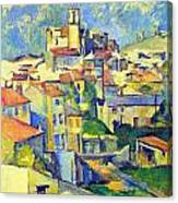 Gardanne By Cezanne Canvas Print