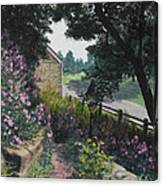 Garden At Pendarvis Mineral Point Wisconsin  1 Canvas Print