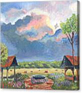Garden Before The Storm Canvas Print