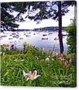 Garden By The Sea Canvas Print