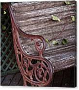 Garden Chair Canvas Print