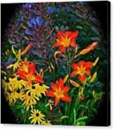 Garden Color Delight Canvas Print