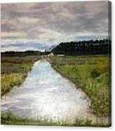 Garden Creek Canvas Print