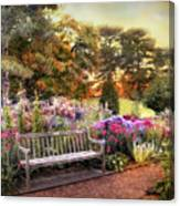 Garden Delight Canvas Print