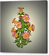 Garden Flowers 6 Canvas Print