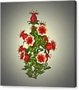 Garden Flowers 8 Canvas Print