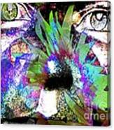 Garden Guardian 3 Canvas Print