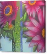 Garden Guardian Canvas Print