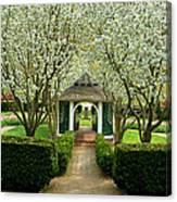 Garden In Full Bloom Canvas Print