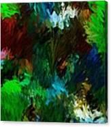 Garden In My Dream Canvas Print