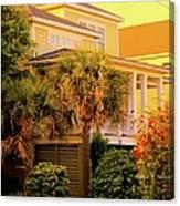 Garden Light At Isle Of Palms Canvas Print