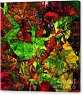 Garden Lizard Canvas Print
